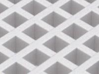 Stropní podhledy Fonosteel Steel Grid
