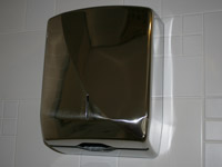 Hand towel dispenser stainless steel