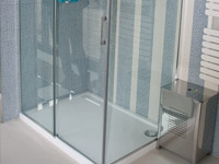 Shower enclosure STAR 5 90cm + STAR 9C 118 cm