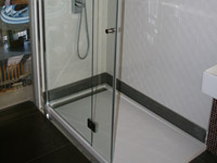 Shower enclosure TREY 10 140 x 80 cm