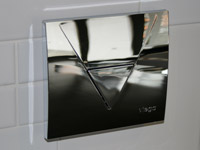 Flush Panel, chrome
