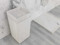 Kamenné umyvadlo Basic stand
