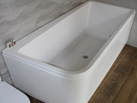 Bathtub Minimal offset 180 x 90 cm