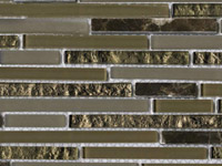 Eternity Mini Strip Emperador Mosaics