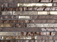 Treasures Bronz. Emper Strip Mosaics