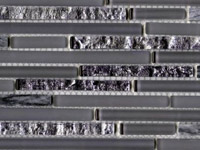 Eternity Mini Strip Grey Mosaics