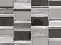 Мозаика Fusion 3D Steel Mix