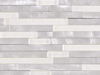 Fushion Brick 3D White Mosaics