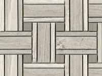 Mozaika Lines Silver Wood Grey