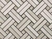 Mozaika Essential Basket Silver Wood