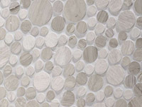 Moon Silver Wood Mosaics