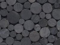 Mozaika Paradise Round Stone Negro