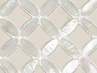 Мозаика Victorian Island Star White