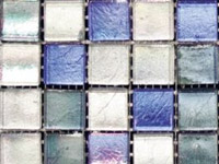 Arabia Mix Blue SIlver Mosaics