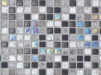 Imperia Mix Silver Blacks Mosaics
