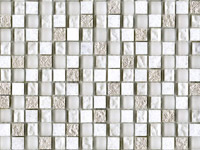 Mozaika Imperia Mix Silver White
