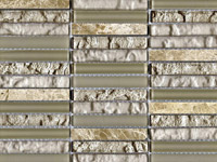 Tecno Linear Cream Capuccino Mosaics