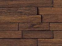 Wood Brick Mosaics