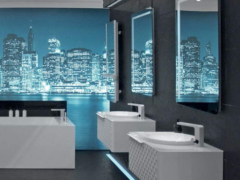 Zrcadlo do koupelny Lounge