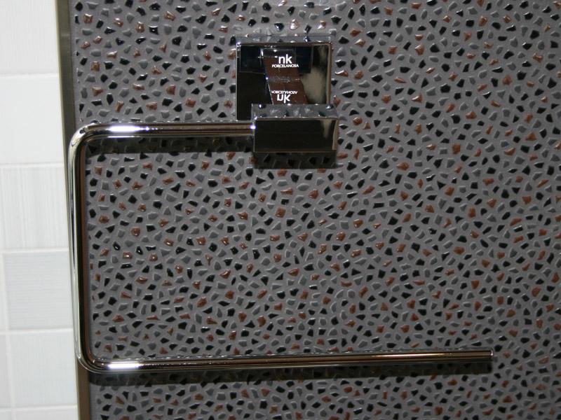 Držák ručníku KUBIC 25 cm