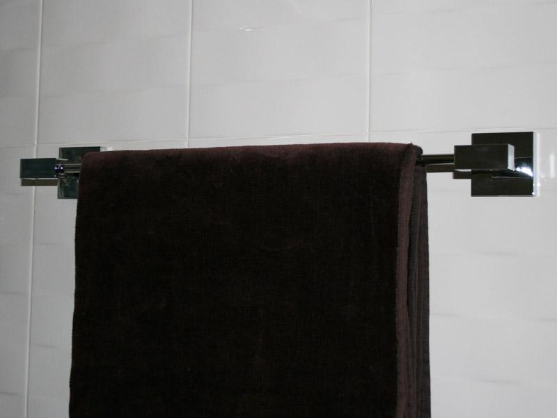 Držák ručníku KUBIC 50 cm chrom