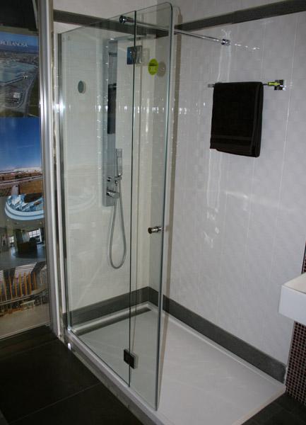 Sprchová zástěna TREY 10 140x80 cm chrom
