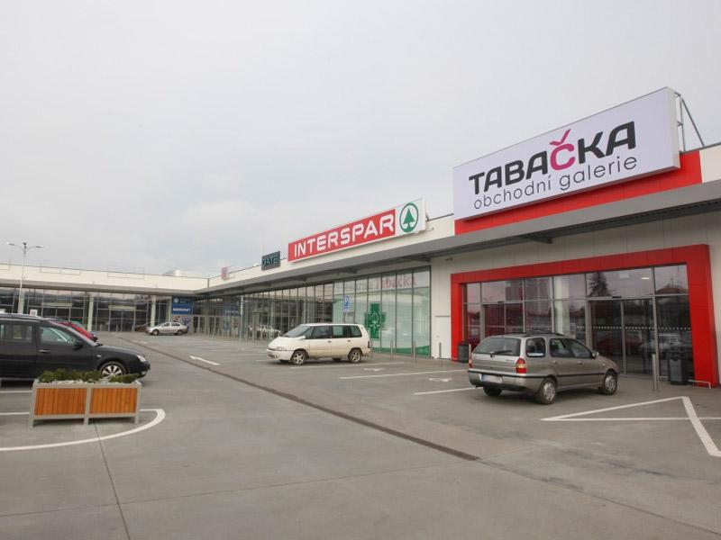 PORCELANOSA Grupo CZ, a JTH: Obchodní galerie Tabačka