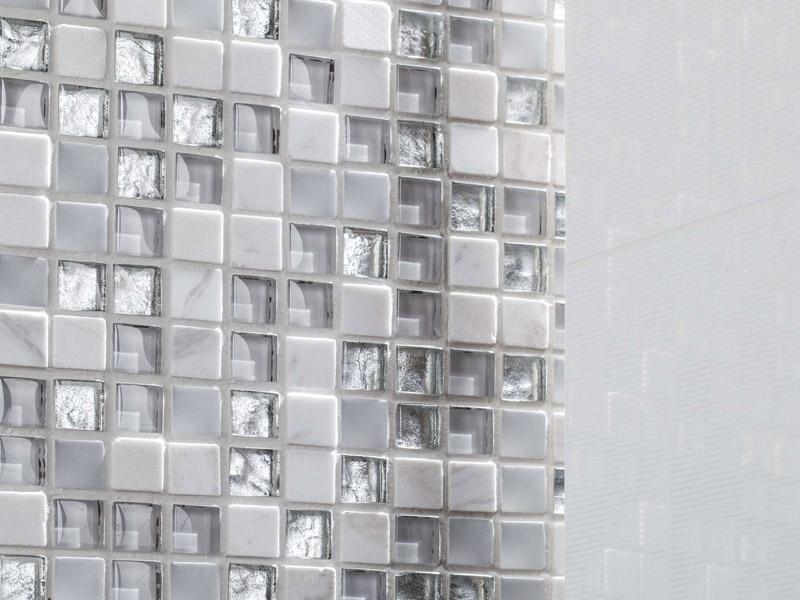 Mozaika Eternity White