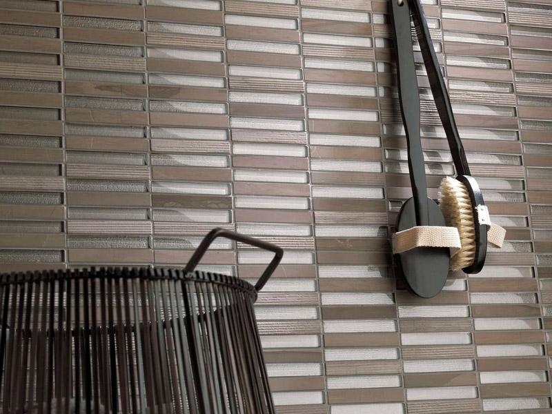 Mozaika Time Texture Linear Silk Wood