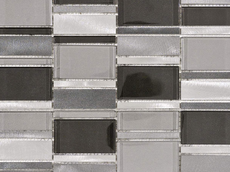 Mozaika Fusion 3D Steel Mix