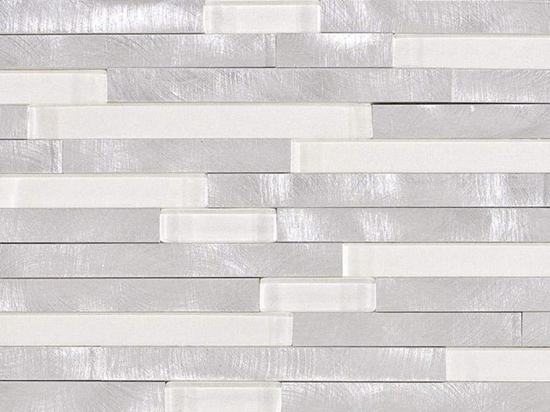 Мозаика Fusion Brick 3D White