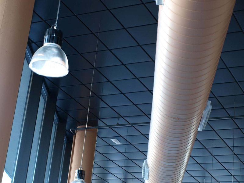 Stropní podhledy Fonosteel Steel Estándar