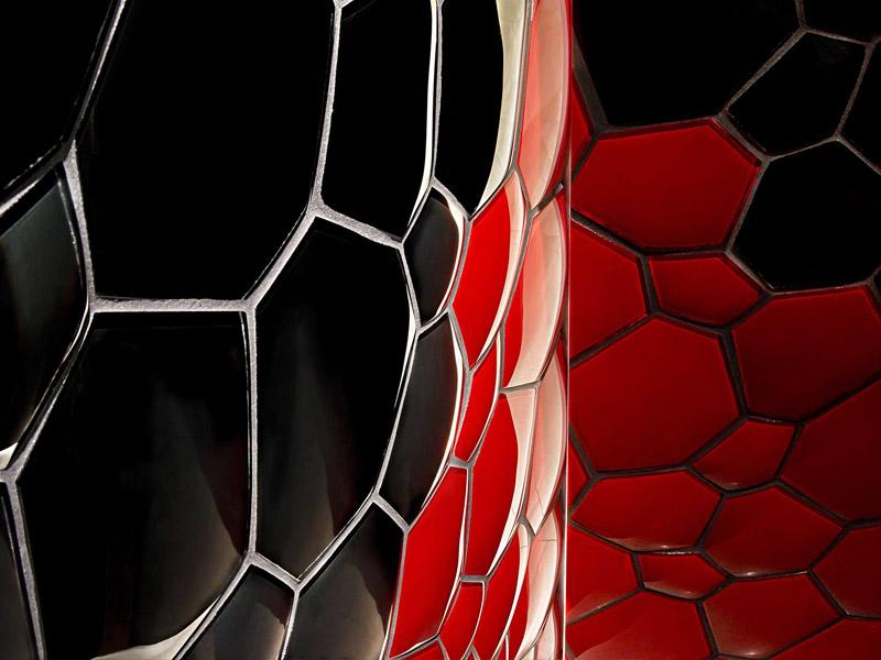 Mozaika Hexcube Black