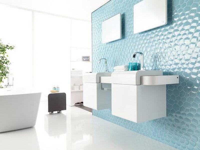 Mozaika Hexcube Blue
