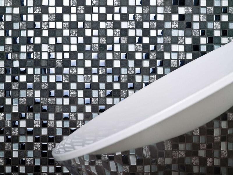 Mozaika Imperia Mix Silver Blue Blacks