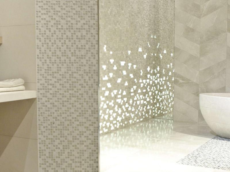 Mozaika Imperia Mix Silver White