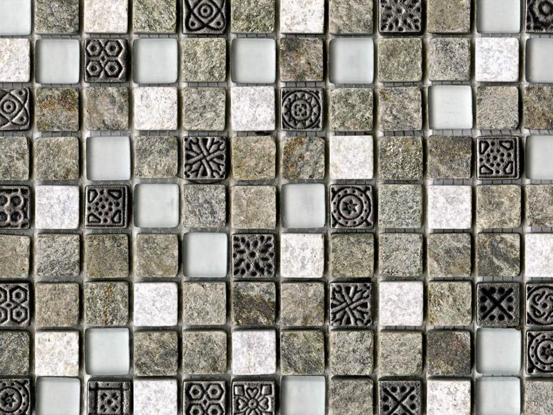 Mozaika Tecno Quarz Emerald